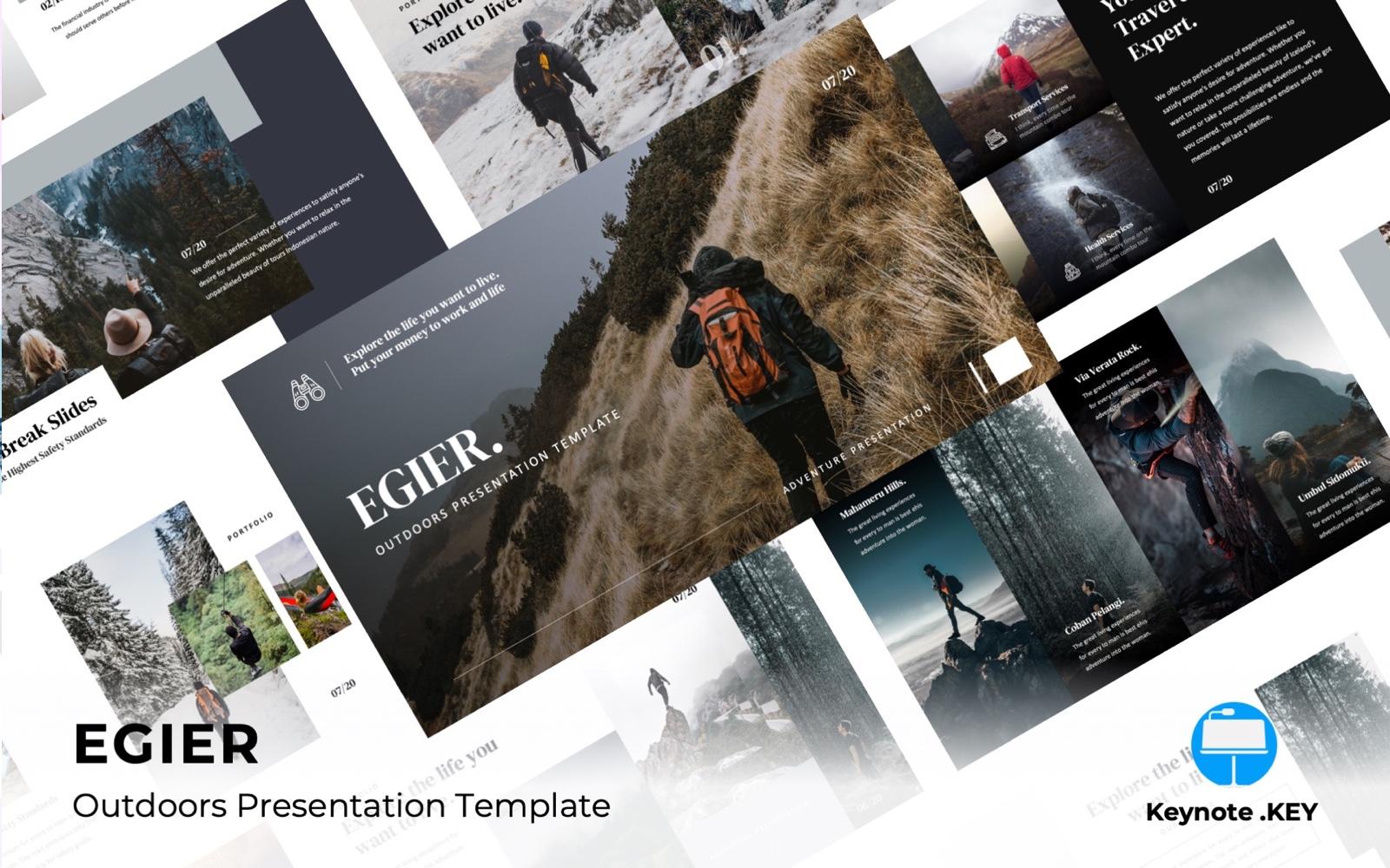 EGIER - Adventure and Travel Keynote Template