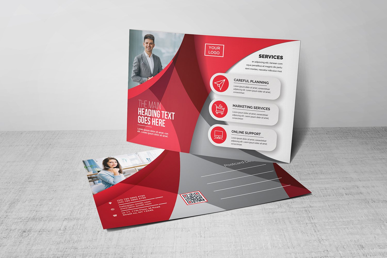 Postcard Corporate Identity Template