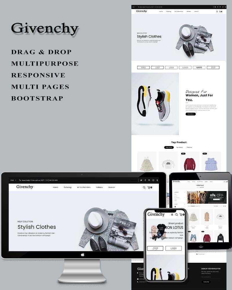 Givenchy - Fashion Shopify Theme