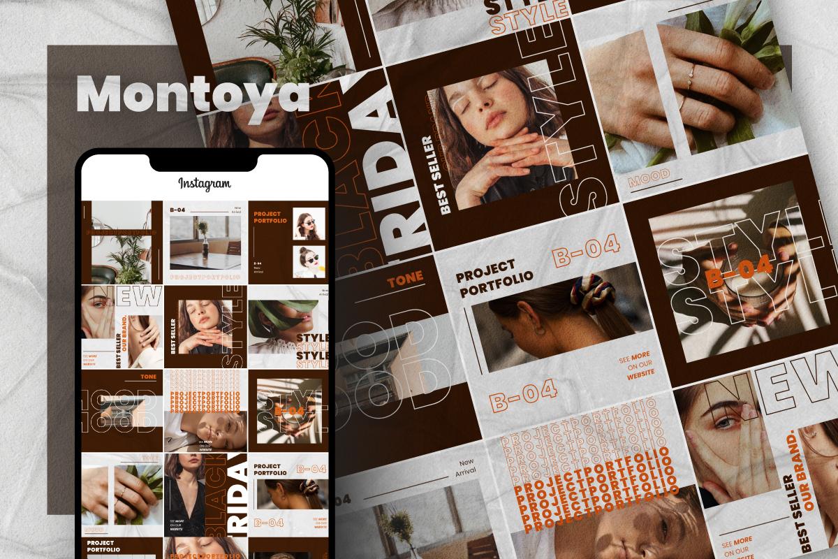 Montoya - Instagram Post Social Media