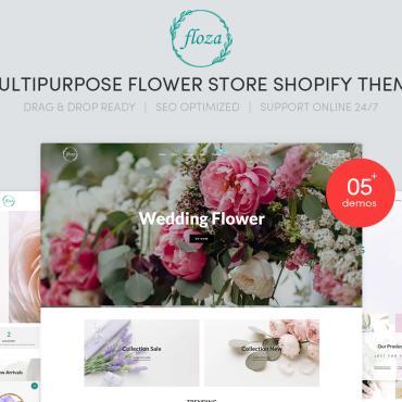 Купить  пофессиональные Shopify шаблоны. Купить шаблон #101712 и создать сайт.