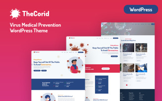 Thecorid - Corona Virus(Covid-19) Medical Prevention WordPress Theme