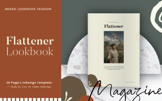Flattener Brand Lookbook Fashion