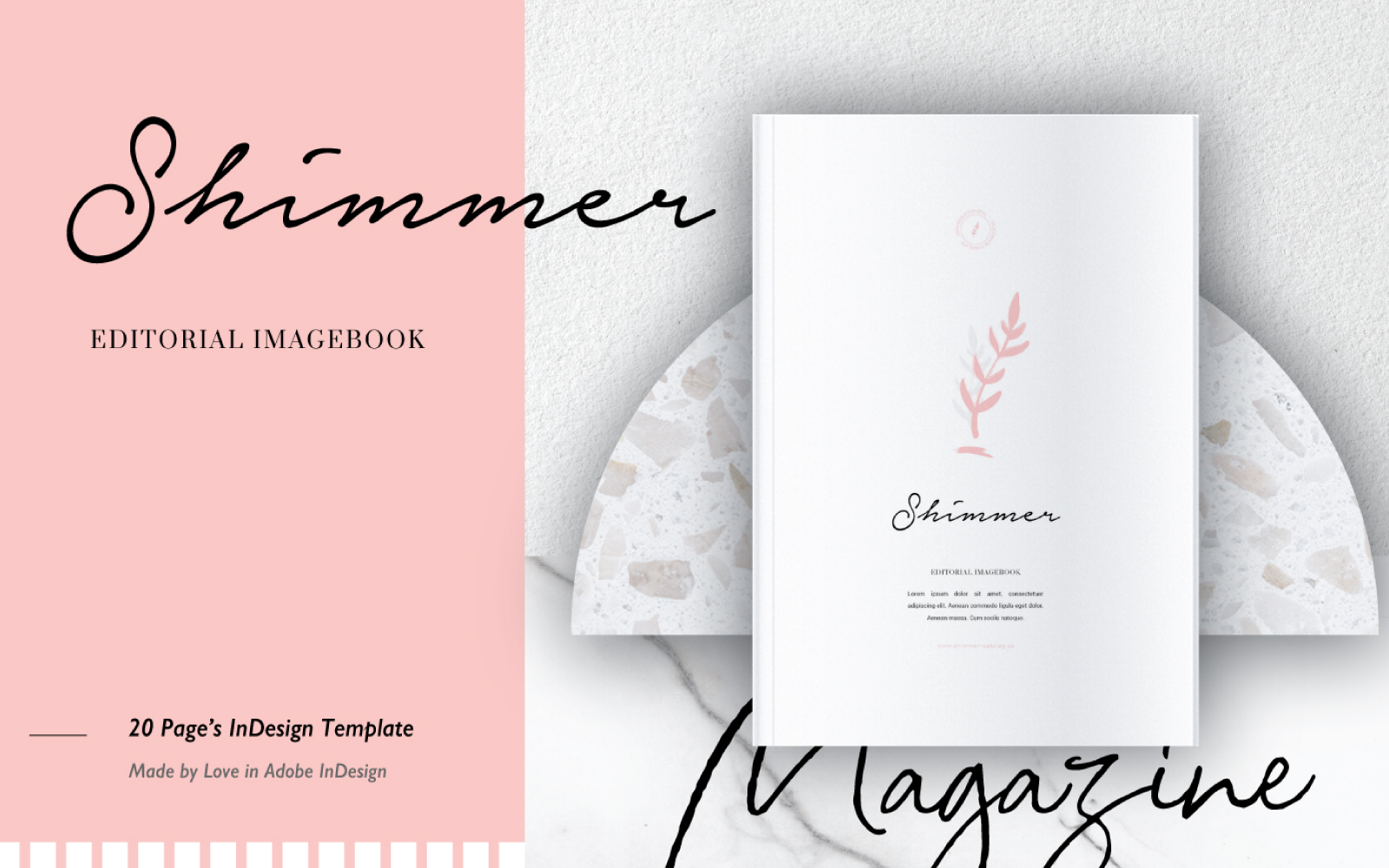 HIMMER EDITORIAL IMAGEBOOK Magazine Template