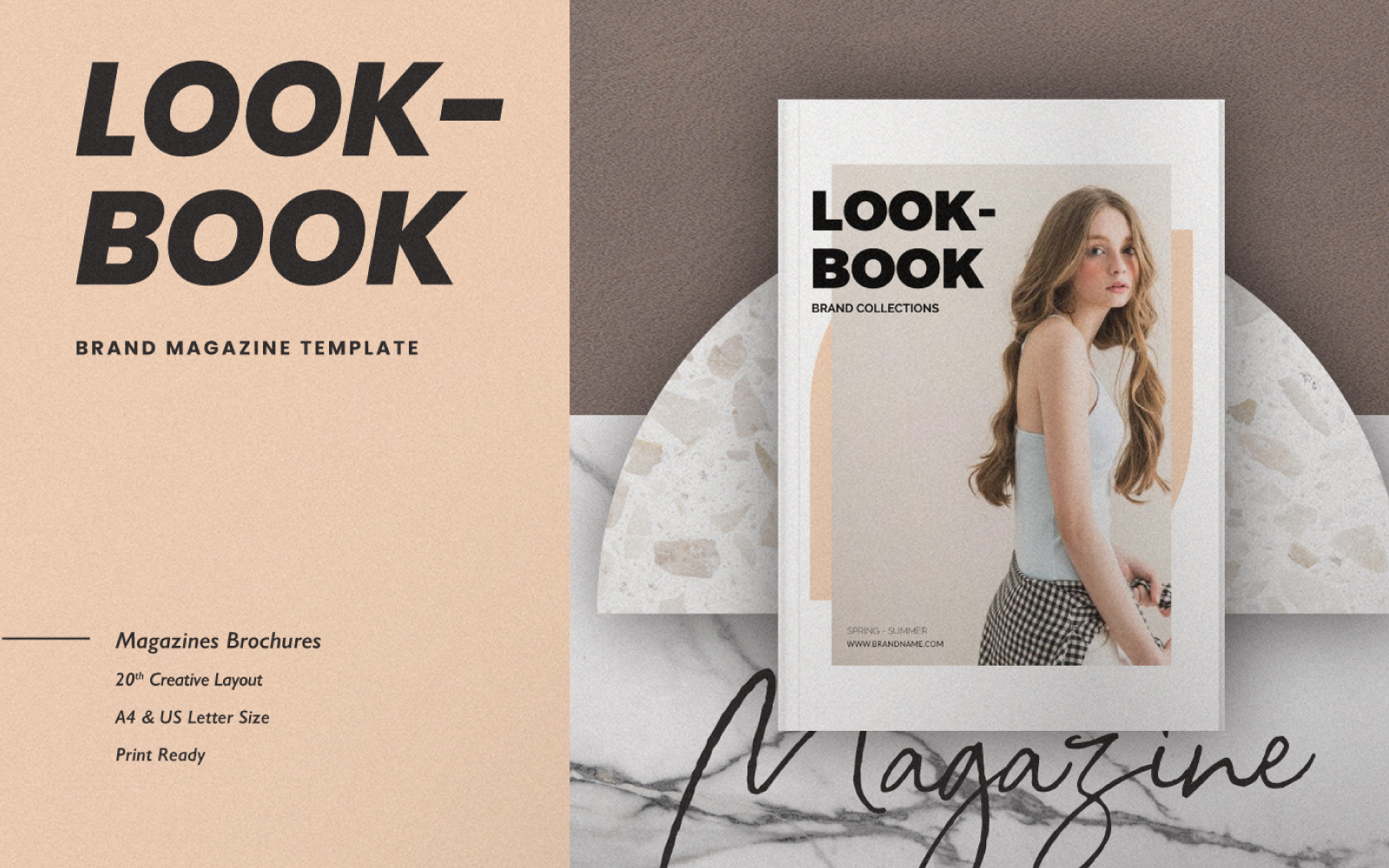 Lookbook Collection Magazine Template