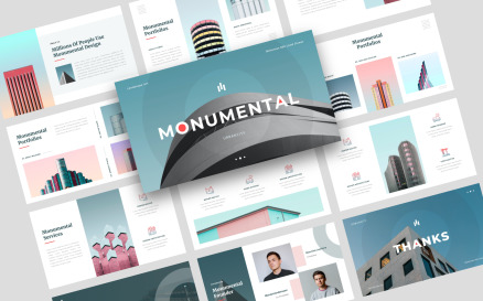 Monumental - Creative Keynote Template