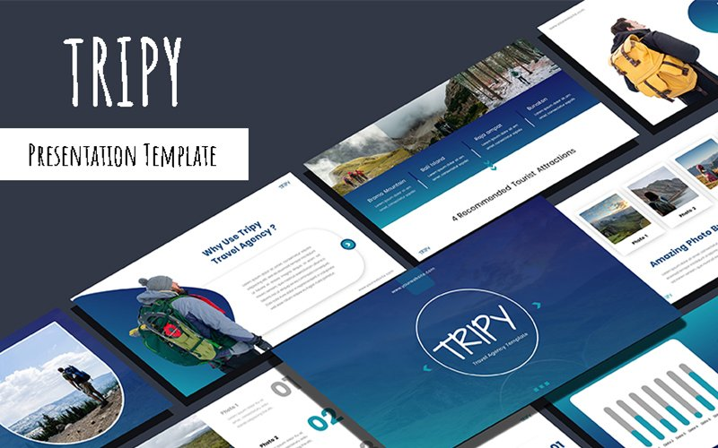 Tripy - Travel Agency PowerPoint Template