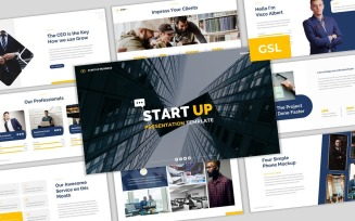 Start Up Google Slides Template