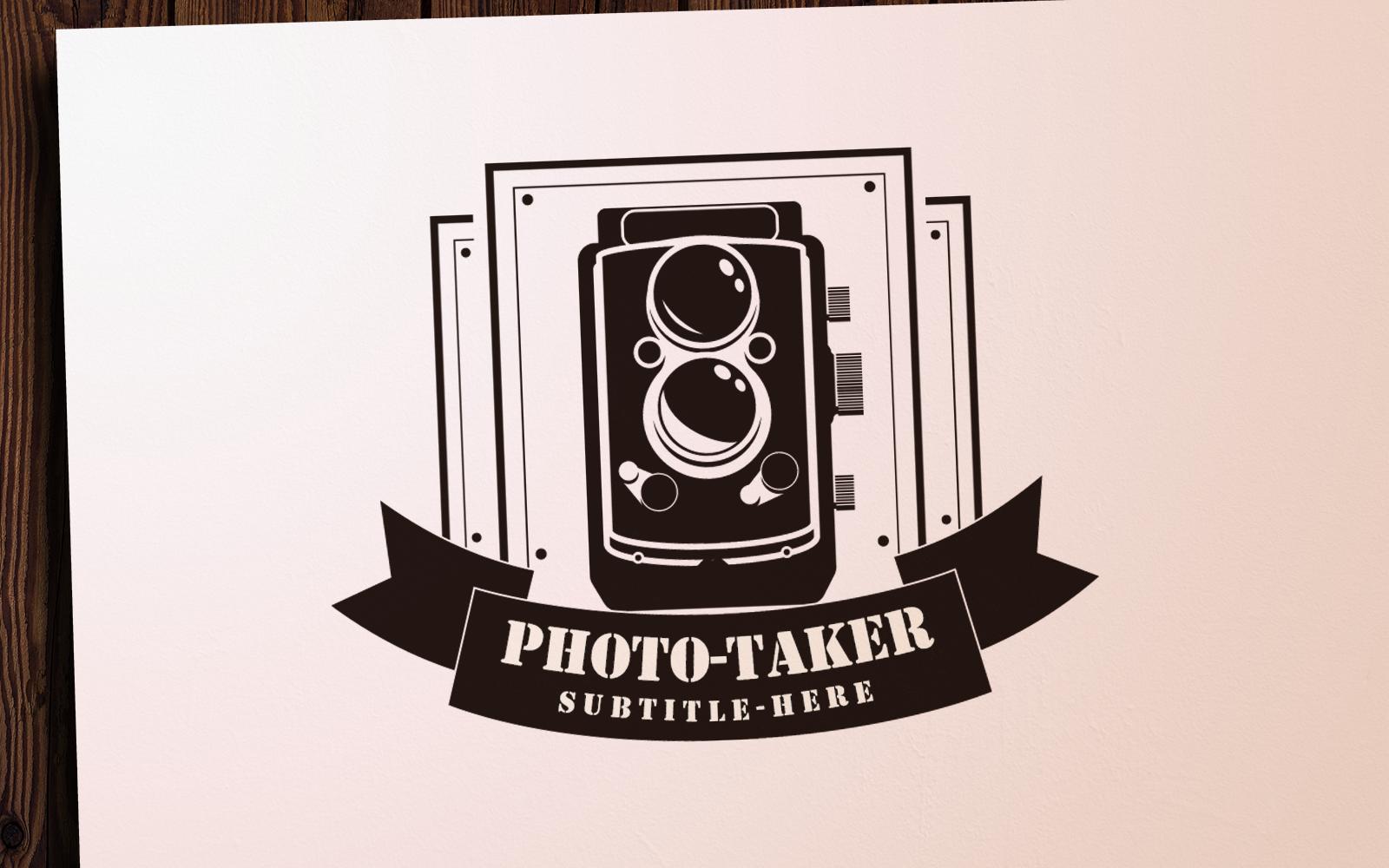 Photo-Taker Logo Template