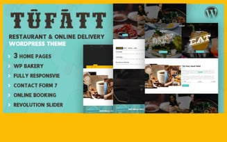 Tufatt | Restaurant & Food Blog WordPress Theme
