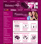 OsCommerce: Online Store/Shop Gifts osCommerce Templates St. Valentine St. Valentine