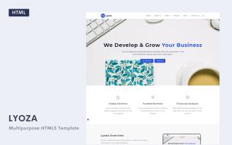 Lyoza - A Responsive HTML5 Business
