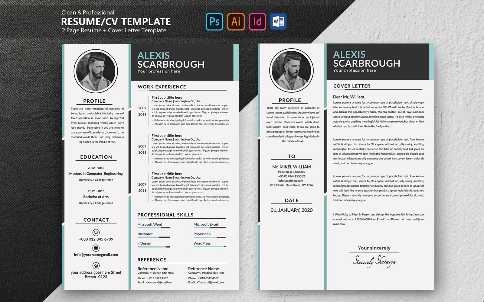 Alexis Scarbrough Resume Template