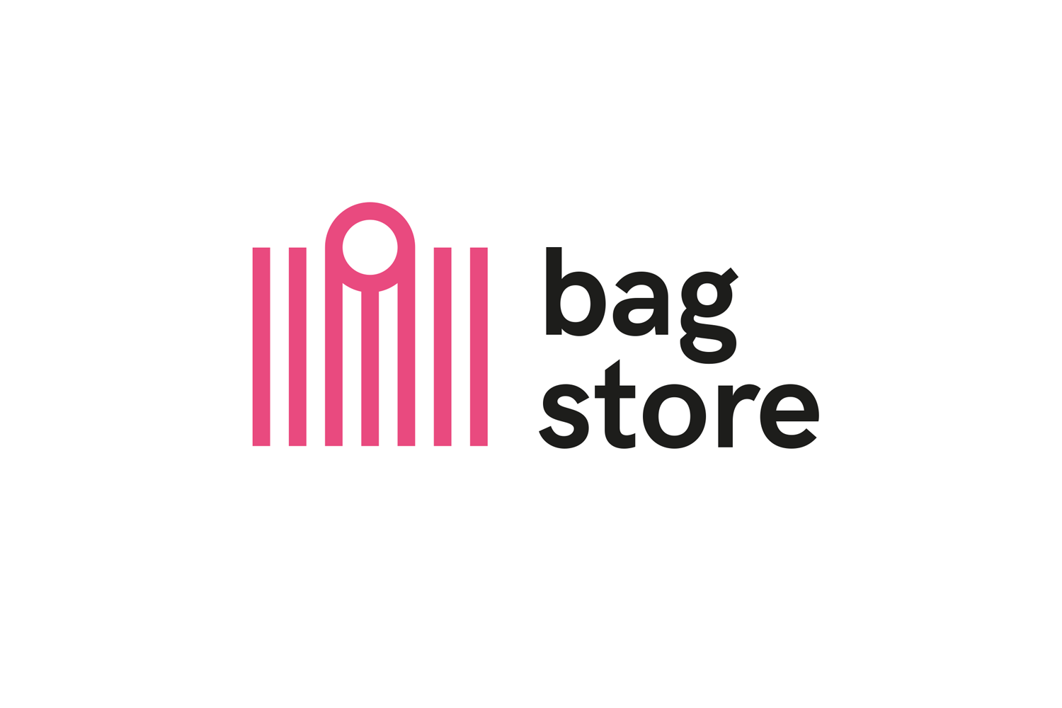 Bag Store Logo Template