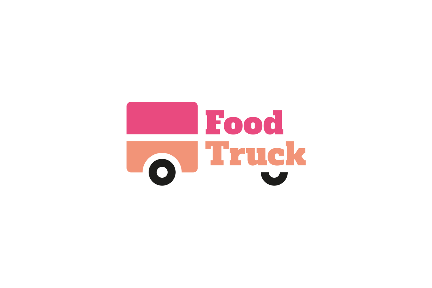 Food Truck Logo Template