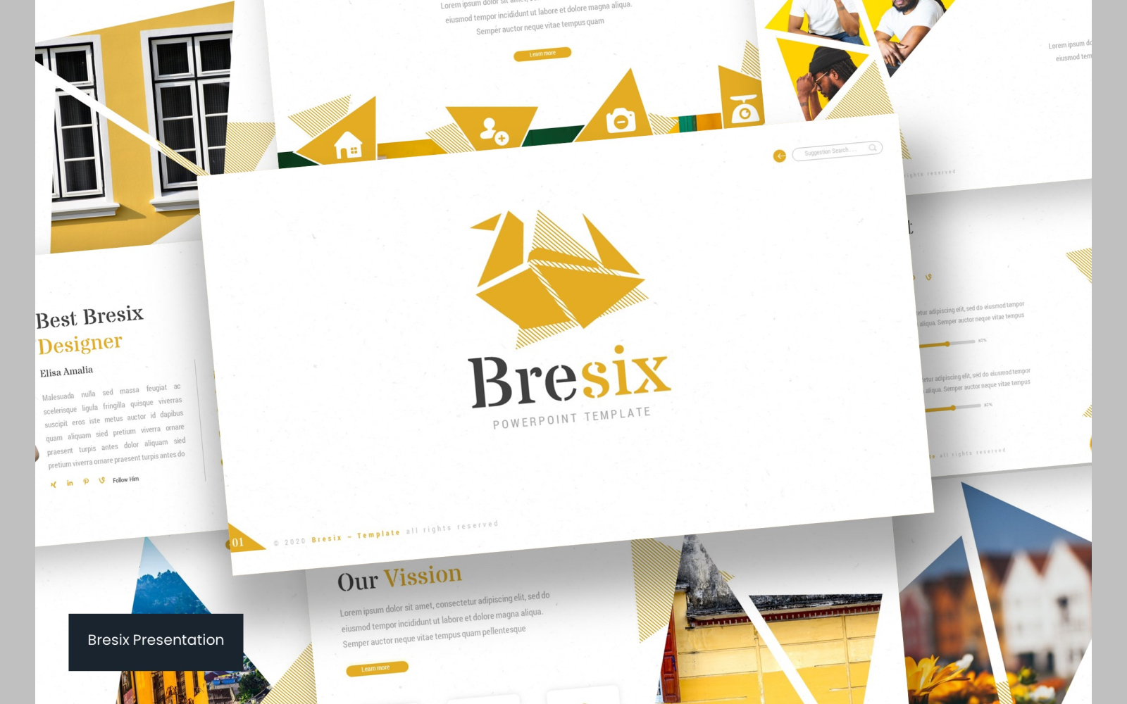 Bresix Keynote Template