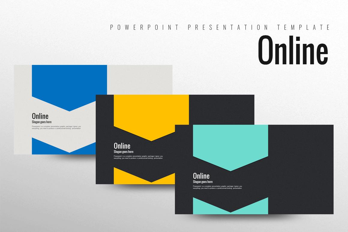 Online Template PowerPoint №102232