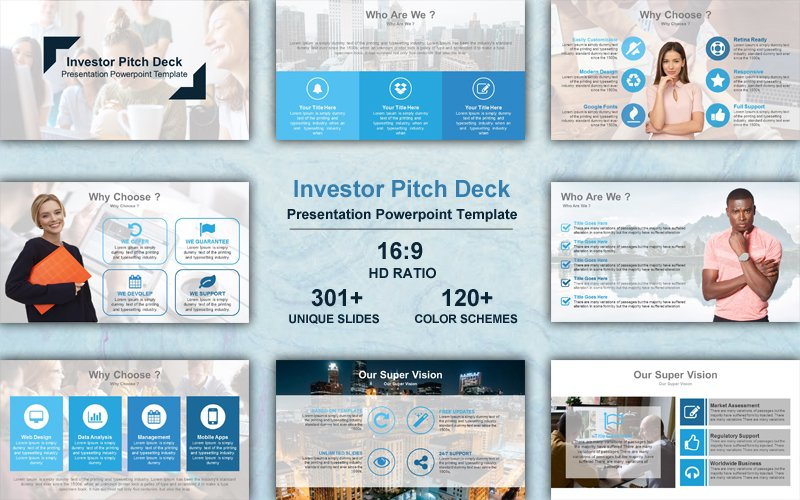 Premium Project Status Powerpoint #102248