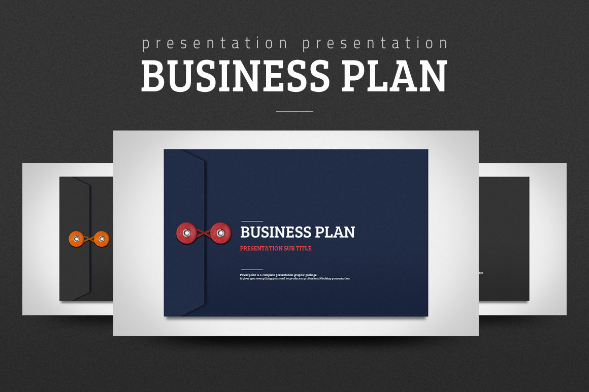 Szablon PowerPoint Business Plan #102230
