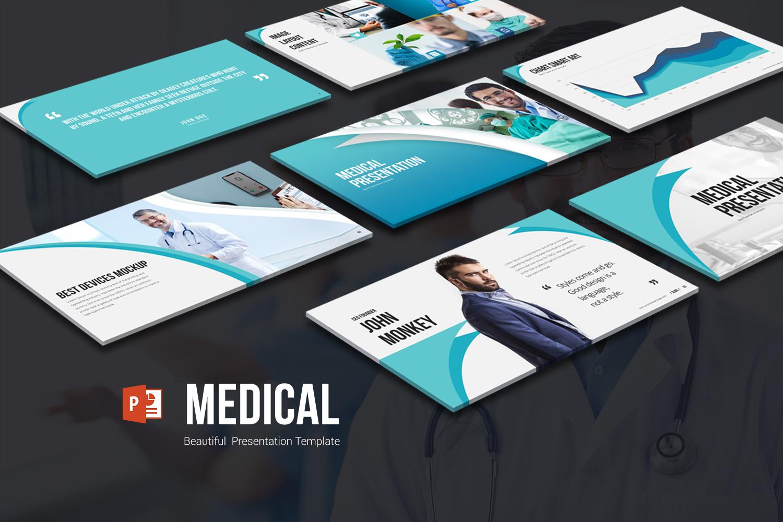Szablon PowerPoint Medical Presentation #102241