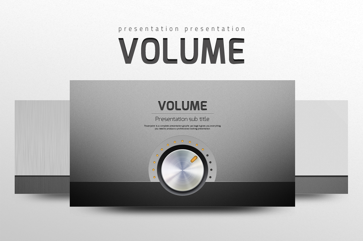 Szablon PowerPoint Volume #102239
