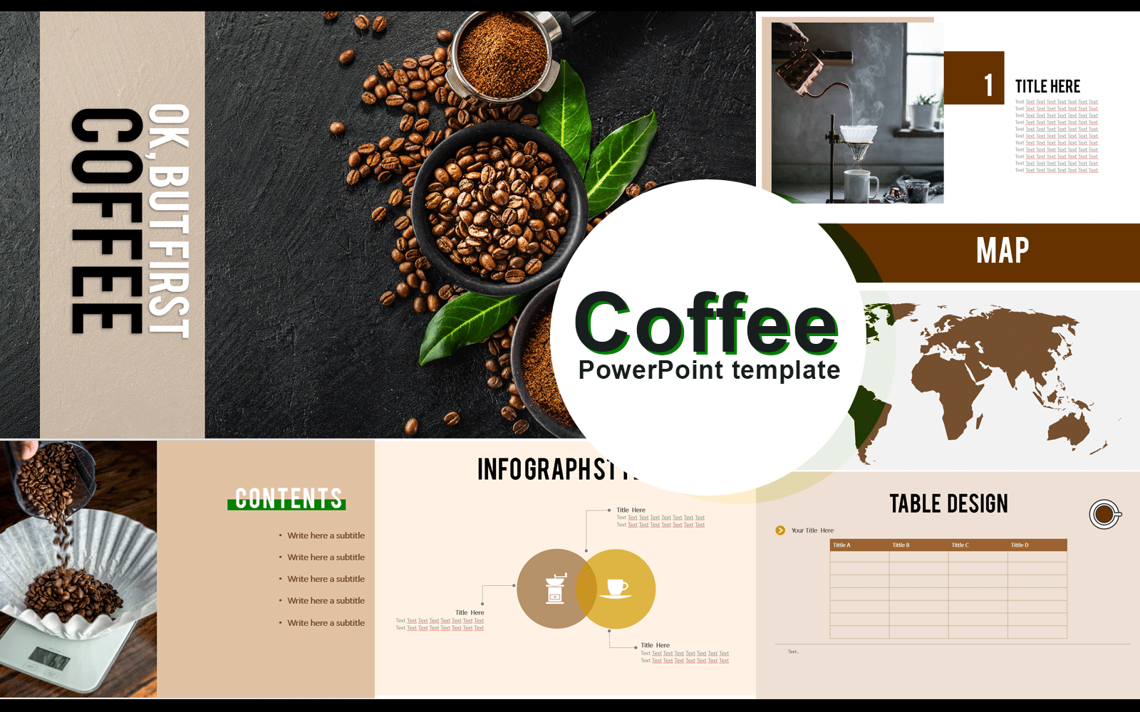 Coffee PowerPoint Template