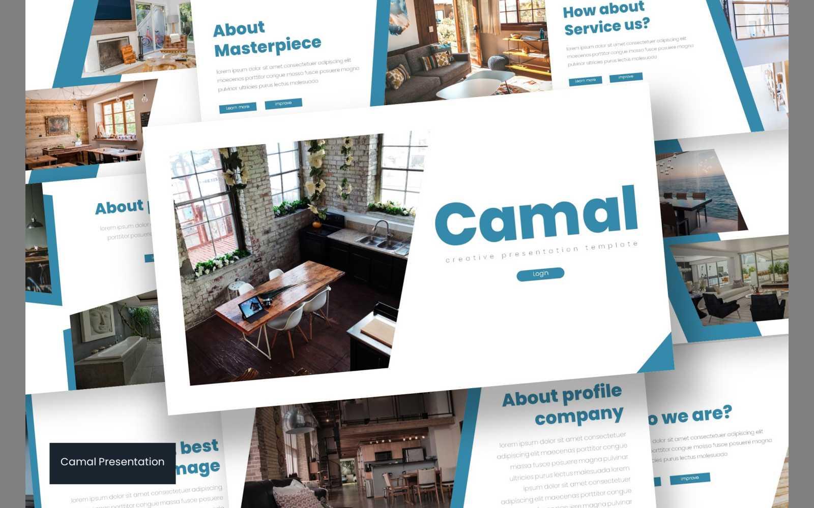"""Camal"" google Slides  #102305"