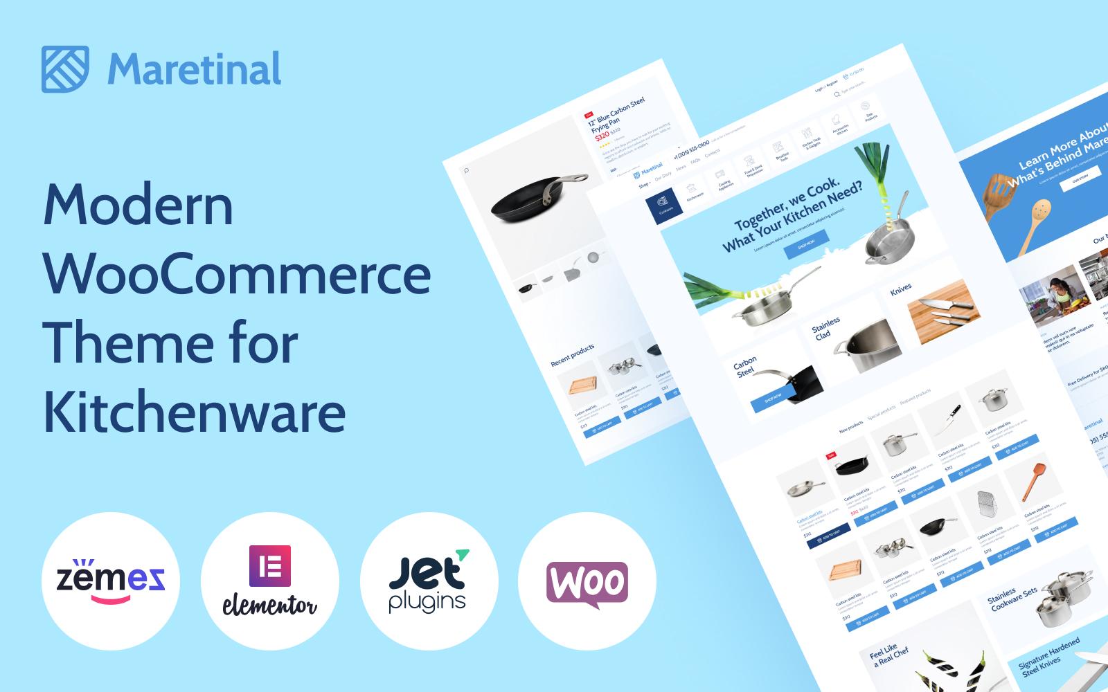 """Maretinal - WooCommerce Household Products"" - адаптивний WooCommerce шаблон №102354"