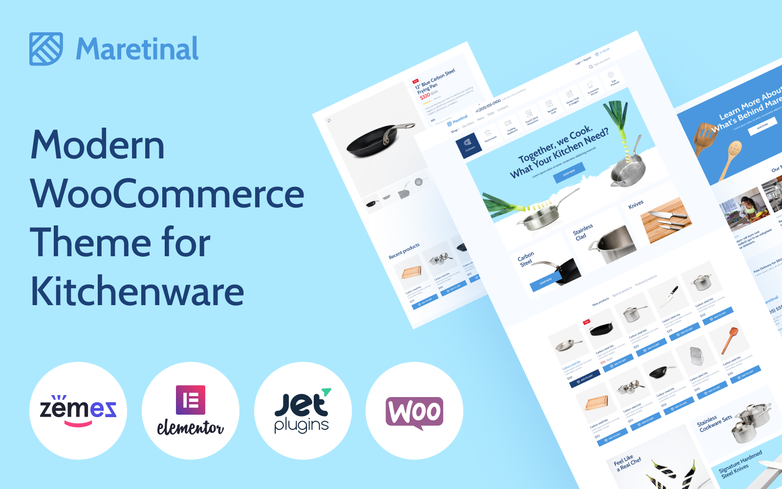 "Tema WooCommerce Responsive #102354 ""Maretinal - WooCommerce Household Products"""