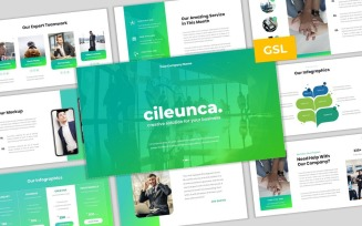 Cileunca - Creative Business Google Slides Template