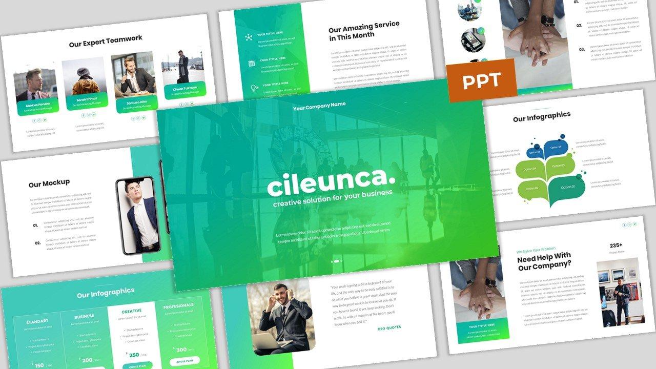 Cileunca - Creative Business PowerPoint Template