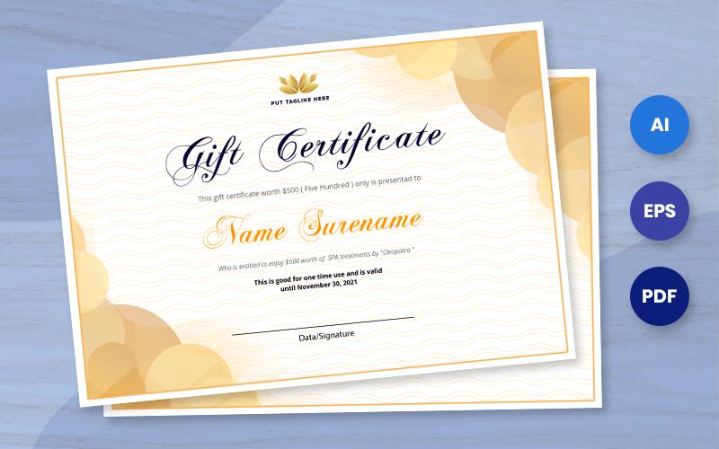 Free Award Certificate Template AI, EPS , PDF Certificate Template