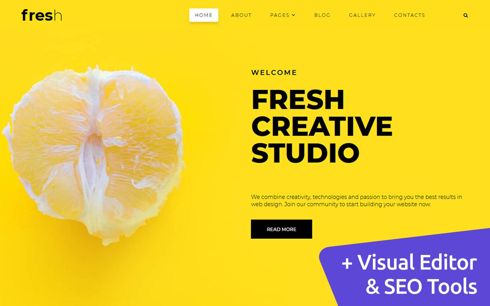 Fresh - Company Portfolio №102444