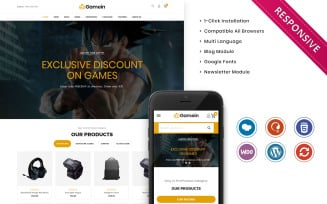 Gamein - The Branded Gaming WooCommerce Theme