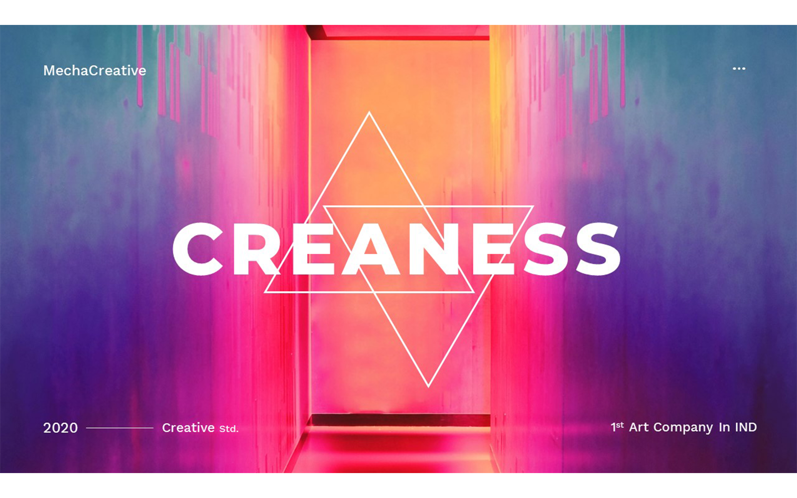 Creaness – Creative Business PowerPoint Template