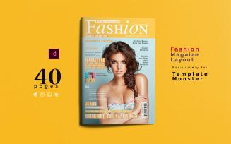 Fashion Magazine Template #01