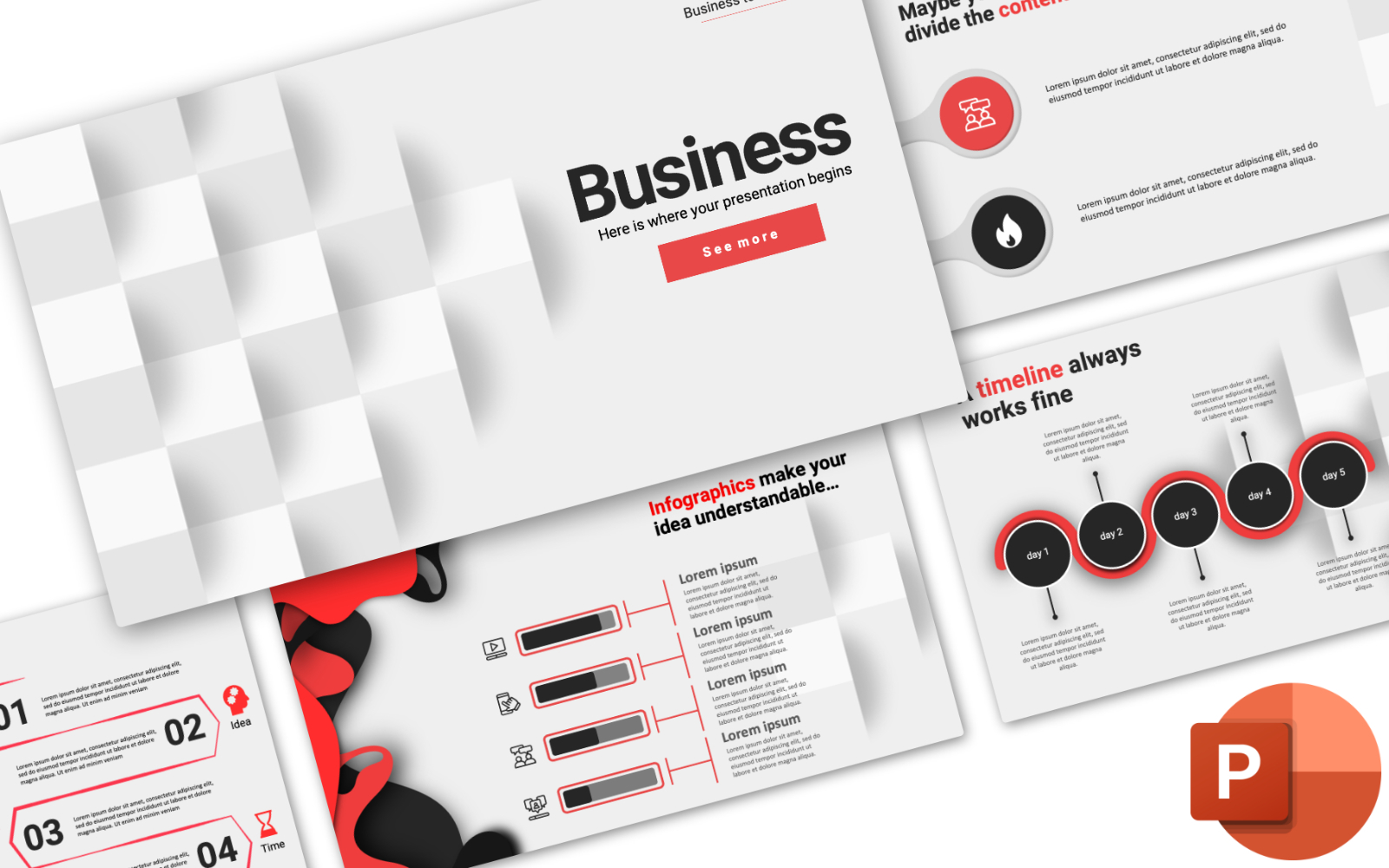 "Plantilla PowerPoint ""Business Presentation"" #102582"