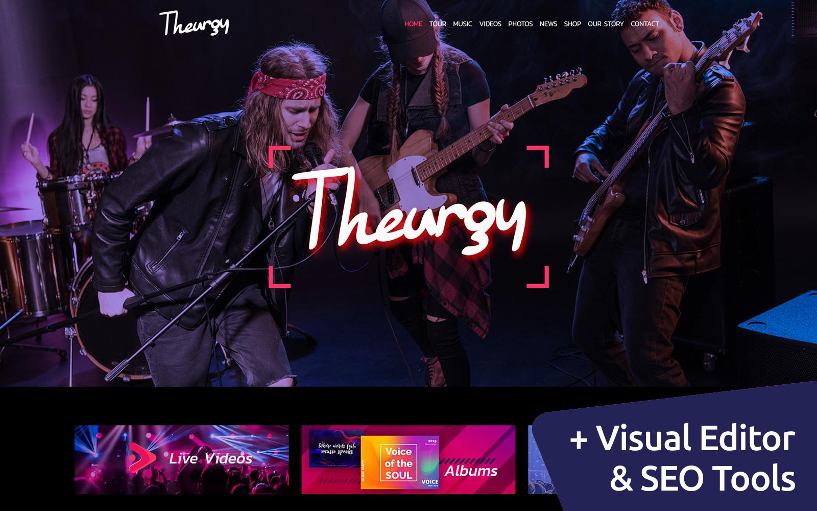 Theurgy - Music Band №102545