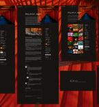 Персональные сайты, визитки. Шаблон сайта 102713