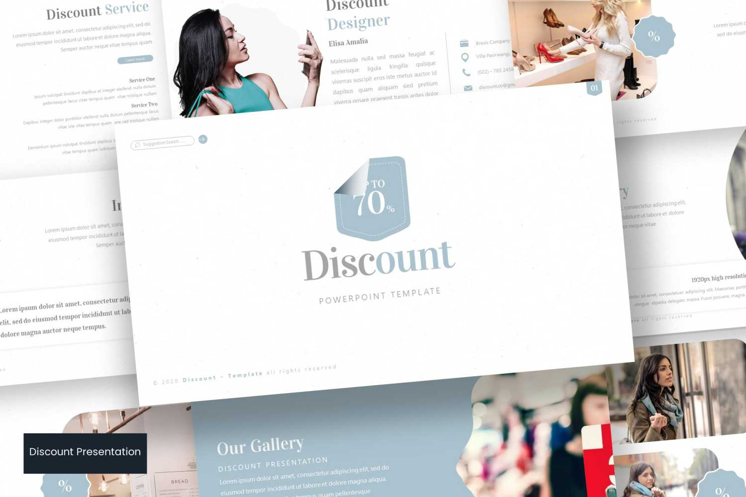 Discount PowerPoint Template