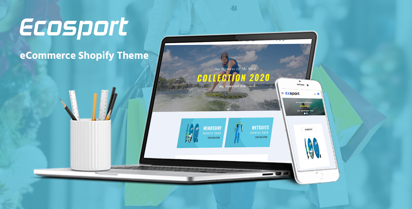 """Gts Ecosport - Responsive"" Responsive Shopify Thema №102766"
