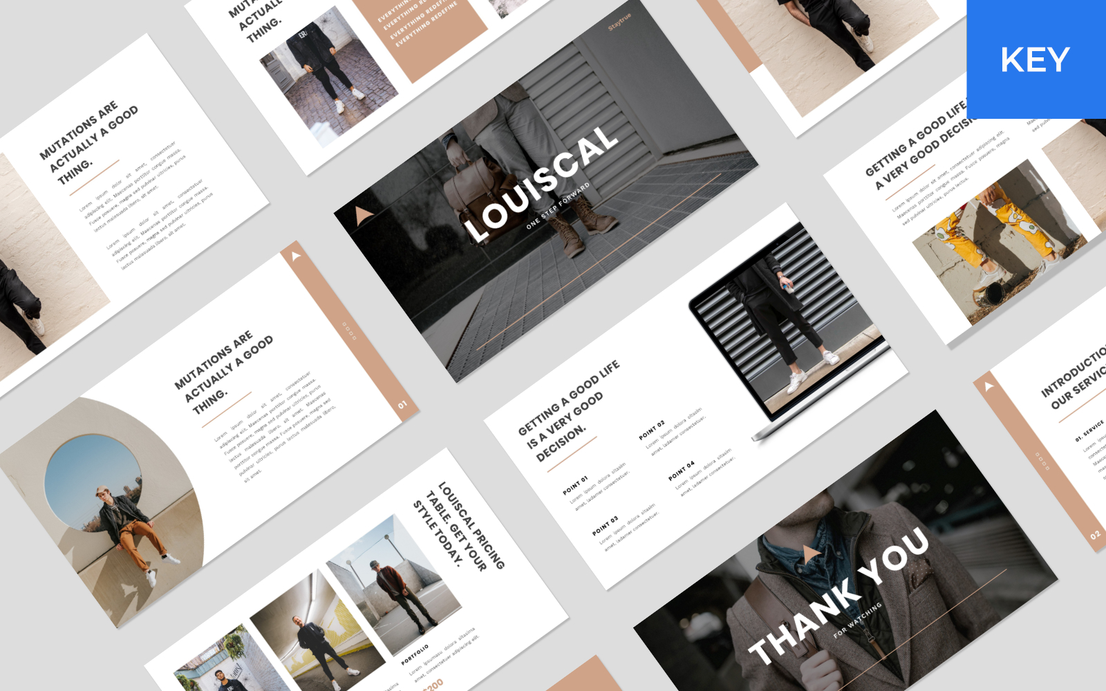 LOUISCAL - Business Creative Keynote Template