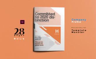 Company Profile and Business Magazine Template