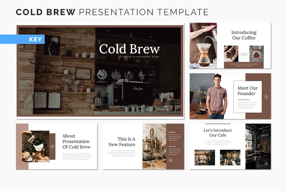 Cold Brew Keynote Template