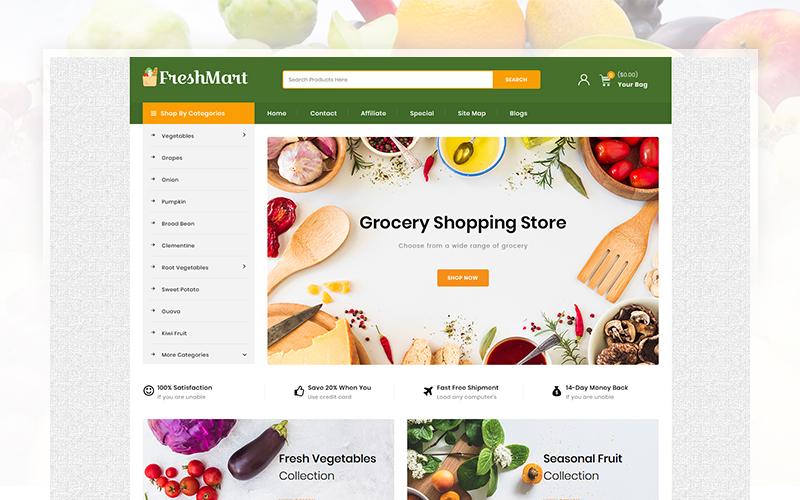 FreshMart - Grocery Store №103656