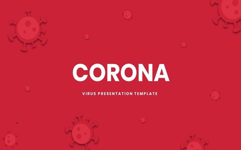 Corona - Presentation Template Google Slides