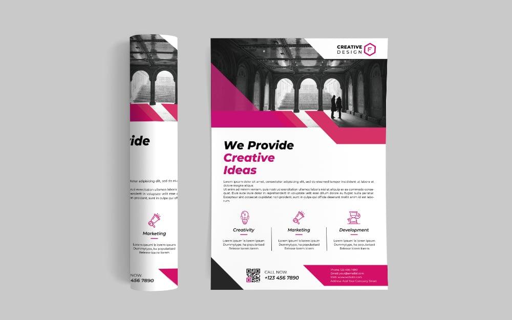 Enterprise Flyer Corporate Identity Template