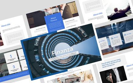 Finanza Finance PowerPoint Template