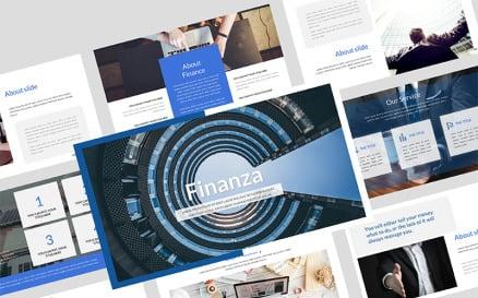 Finanza Finance Keynote Template