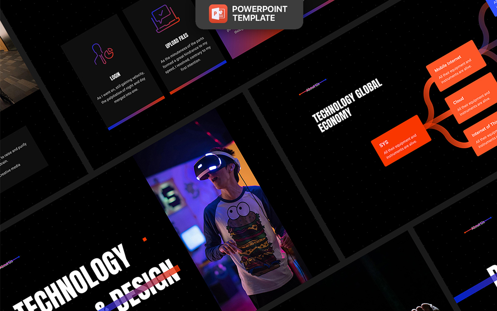 Ash - Smooth Animated PowerPoint Template
